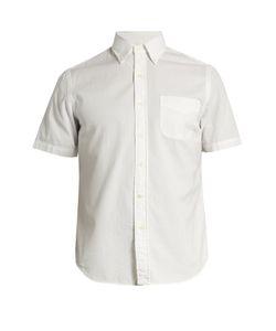Polo Ralph Lauren   Patch-Pocket Cotton-Seersucker Shirt