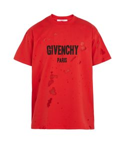 Givenchy | Columbian-Fit Destroyed Cotton T-Shirt