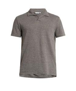 Onia | Shaun Linen-Blend Polo Shirt