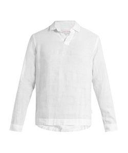 Orlebar Brown | Ridley Lightweight-Linen Shirt