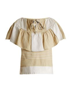 ACE & JIG | Clifton Striped Cotton-Blend Top