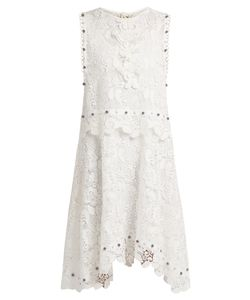No. 21 | Macramé-Lace Stud-Embellished Dress