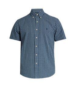 Polo Ralph Lauren   Short-Sleeved Checked Cotton Shirt