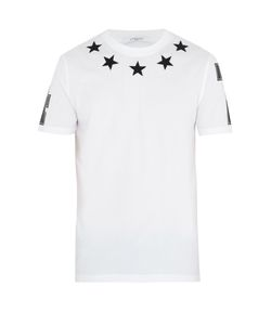 Givenchy | Cuban-Fit Star-Appliqué T-Shirt