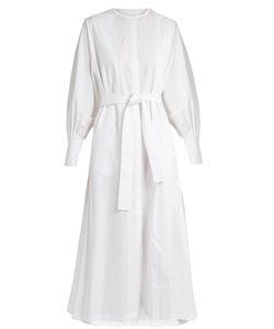 The Row | Tie-Waist Cotton-Poplin Dress