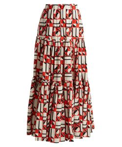 LA DOUBLEJ EDITIONS | The Big Gathered Cotton Maxi Skirt