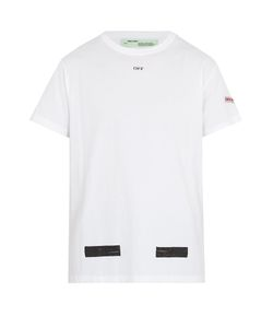 OFF-WHITE | Logo-Print Cotton T-Shirt