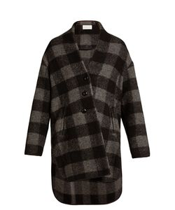 Isabel Marant Étoile | Gino Collarless Checked Coat