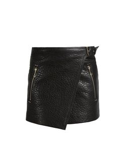 Isabel Marant Étoile | Kakili Bubbled-Leather Mini Skirt