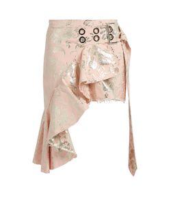 Marques Almeida | -Brocade Asymmetric Mini Skirt