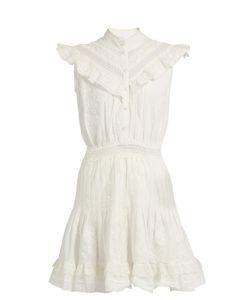 Zimmermann   Tulsi Flutter Lace-Trimmed Dress