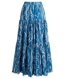 LA DOUBLEJ EDITIONS | The Big Gathered Cotton Maxi Skirt