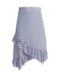 Altuzarra | Maxwell Cherry-Print Silk Skirt