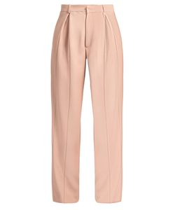 RAEY | Wide-Leg Twill Trousers