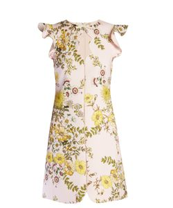 Giambattista Valli | -Print Ruffled Crepe Dress