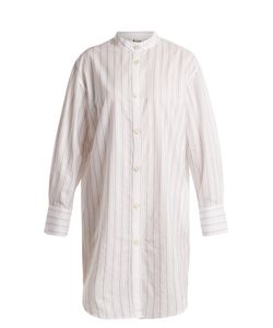 Acne | Diede Striped Cotton Shirtdress