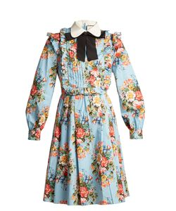 Gucci | Josephine-Print Cotton-Blend Dress