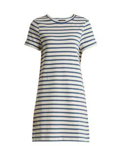A.P.C. | Beckie Striped Cotton-Jersey Dress