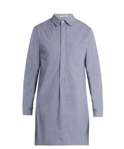 Adam Lippes | Point-Collar Cotton-Chambray Shirt