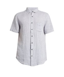 Onia | Jack Short-Sleeved Linen Shirt