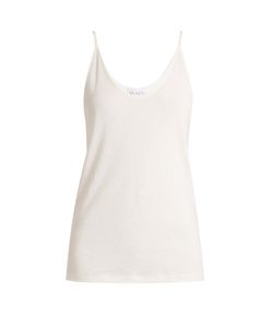 RAEY | Deep Scoop-Neck Ribbed-Jersey Cami Top