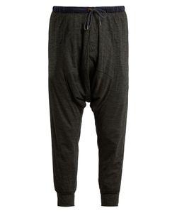 Kolor | Dropped-Crotch Jersey Cropped Track Pants