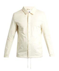ADIDAS BY WINGS & HORNS | Lightweight Cotton-Blend Coach Jacket