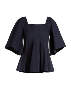 Joseph | Saf Flared-Sleeve Cotton Blouse