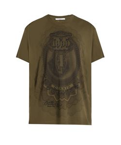 Givenchy | Dollar-Print Cotton-Jersey T-Shirt
