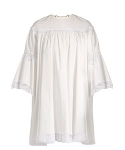 Sonia Rykiel | Lace-Trimmed Cotton Dress