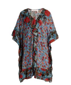 See By Chloe | Georgias Garden-Print Silk Kaftan