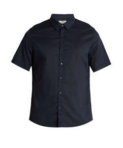 Vince   French-Placket Cotton-Voile Shirt