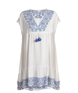 BIONDI | Ciel Embroidered Drawstring Dress