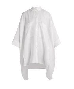 PALMER/HARDING   Oversized Step-Hem Shirt