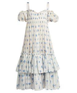 Alexander McQueen | Thistle-Print Cotton-Voile Dress
