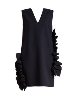 MSGM   Ruffled Stretch-Crepe Dress
