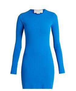 ESTEBAN CORTAZAR | Cut-Out Back Crepe-Knit Dress