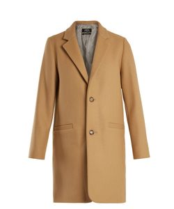 A.P.C. | Carver Single-Breasted Wool-Blend Coat