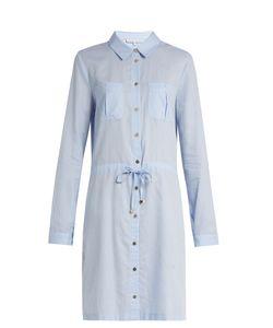 Heidi Klein   St Barth Drawstring-Waist Cotton Shirtdress