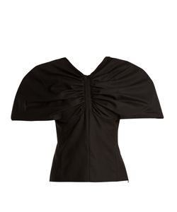 JACQUEMUS | Structured-Sleeve Wool Top