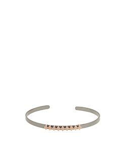 Diane Kordas | Diamond Rose Titanium Heartbeat Cuff