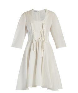 J.W. Anderson   Knotted-Ties Balloon-Sleeved Dress