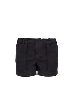 Nili Lotan | Utility Stretch-Cotton Twill Shorts