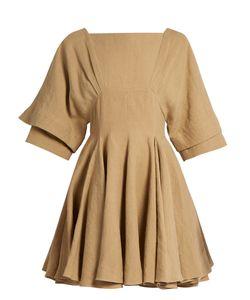 J.W. Anderson   Square-Neck Linen Dress