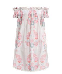 Athena Procopiou | Twilights Love Flowers Cotton Dress