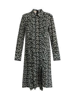 Marni | Crinkle-Print Silk Dress