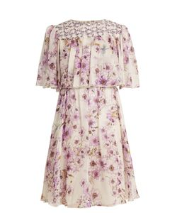 Giambattista Valli | Anemone-Print Silk-Georgette Dress