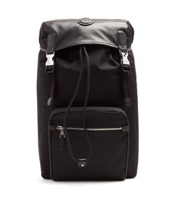 Dunhill | Guardsman Canvas And Leather Backpack