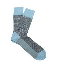 Falke | Mehndi Cotton-Blend Socks