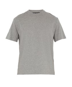 Neil Barrett | Contrast-Hem Cotton T-Shirt